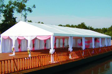 Свадьбы в шатре на форту Константин